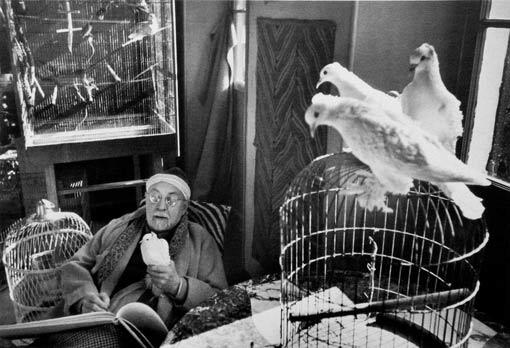 Henri Matisse por Cartier-Bresson