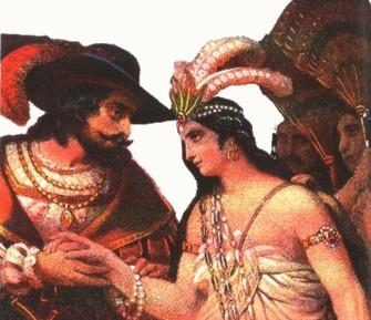 Cortez e Malinche