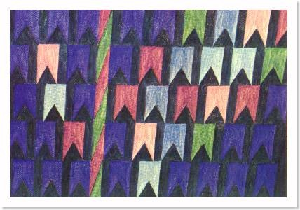 Bandeirinha por Alfredo Volpi