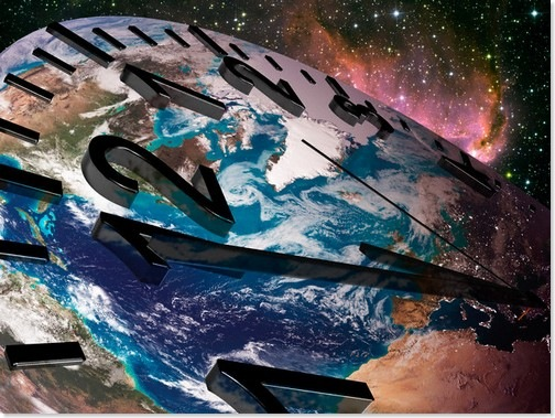 Earth Clock © Michael Agliolo/Corbis