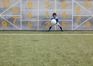 Practicing Goalie © Floresco Productions/Corbis
