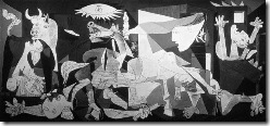 Guernica by Pablo Picasso © Burstein Collection/CORBIS