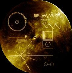 Disco na Voyager. Imagem₢Spiegel Online
